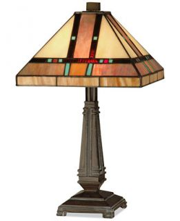 Dale Tiffany Hyde Park Mission Table Lamp   Lighting & Lamps   For The